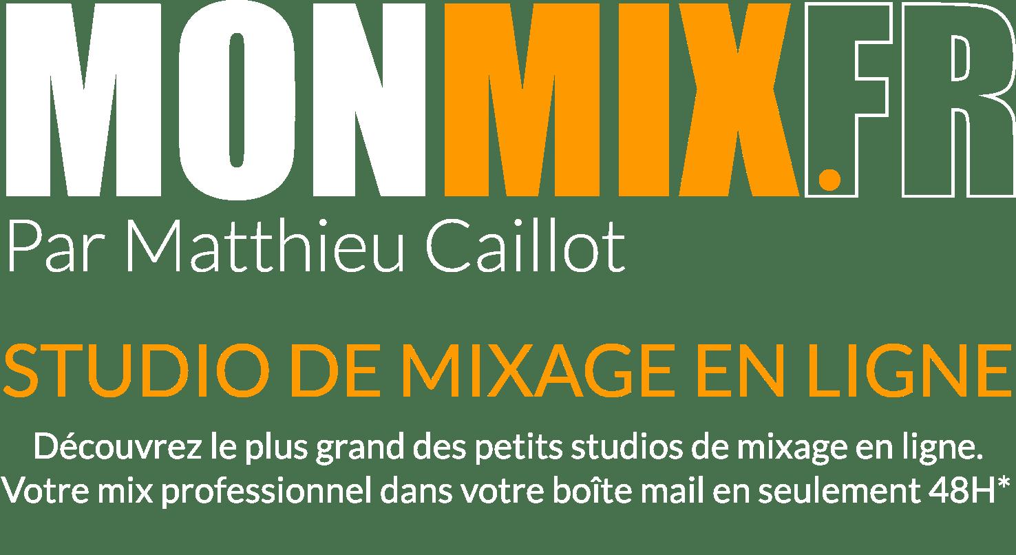 logo de monmix.fr studio de mixage en ligne
